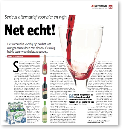 AD weekend over alcoholvrij